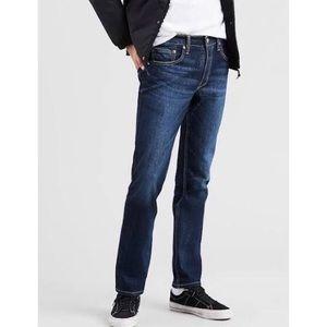 Levi's 511 Slim Fit Blue Medium  Wash Jeans 30x30